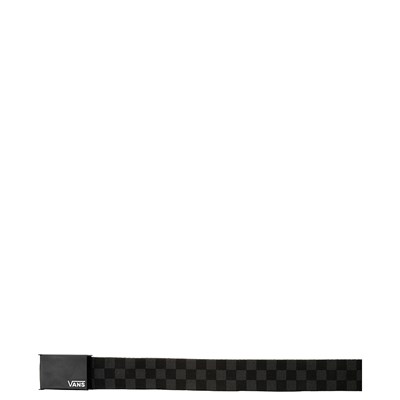 Alternate view of Vans Checkered Web Belt - Black / Gray
