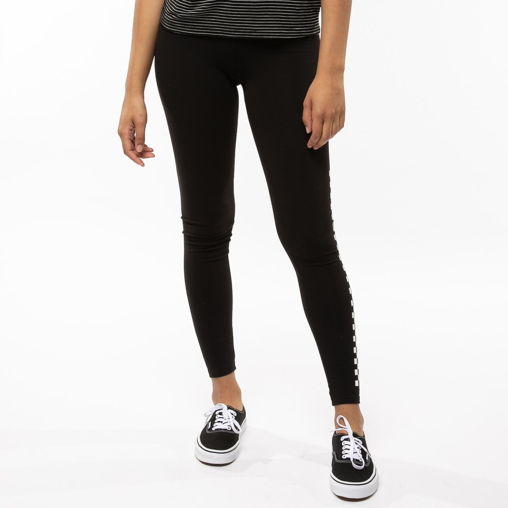 4380a8a9d10f Womens Vans Funday Checkered Leggings