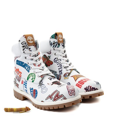 "Alternate view of Mens Timberland x Mitchell & Ness x NBA East Meets West 6"" Boot"