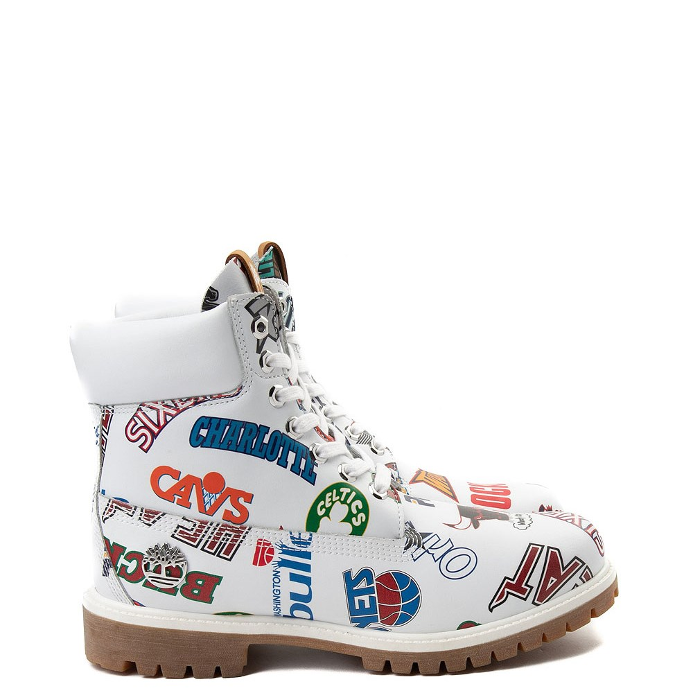 "Mens Timberland x Mitchell & Ness x NBA East Meets West 6"" Boot"