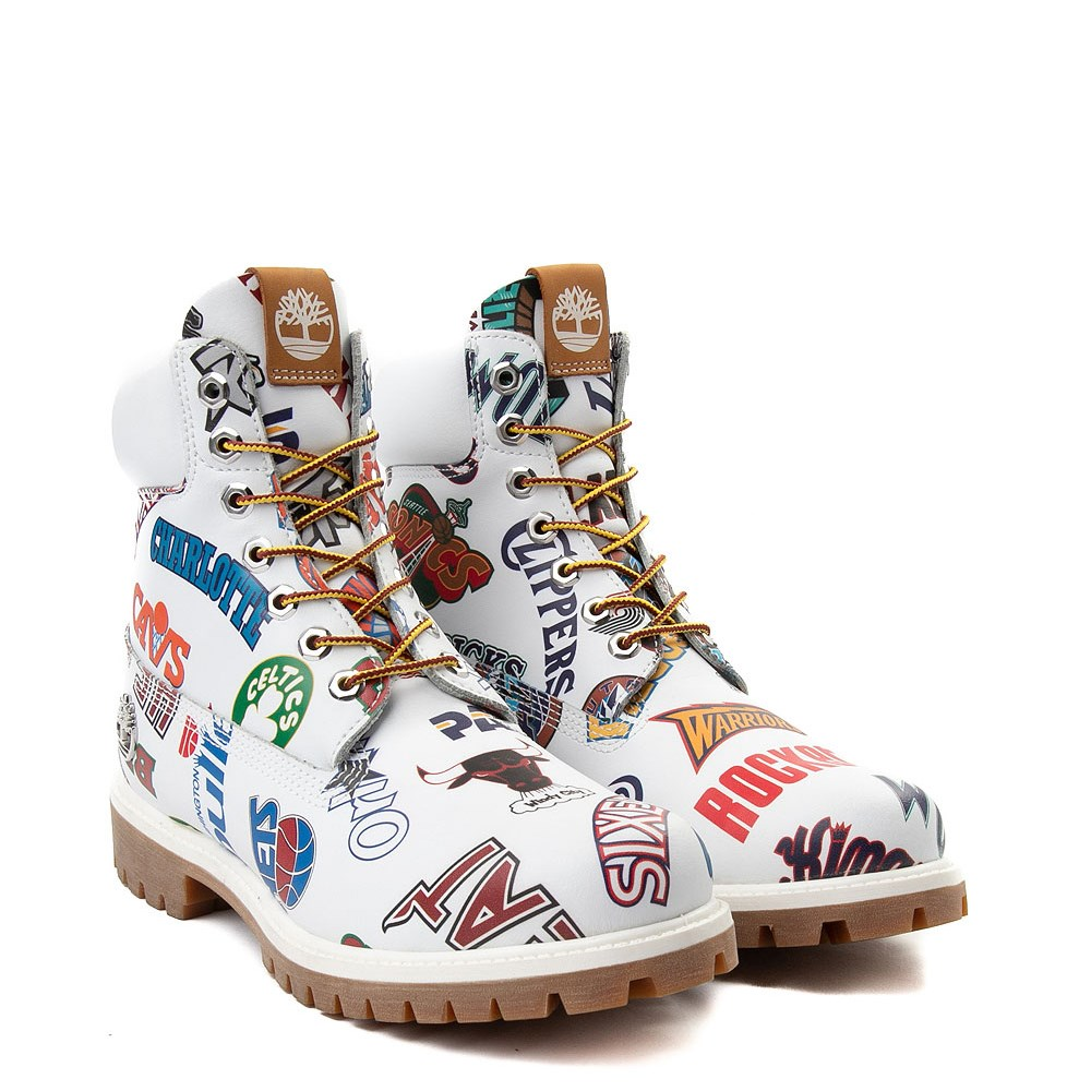 Mens Timberland X Mitchell & Ness X NBA East Meets West 6