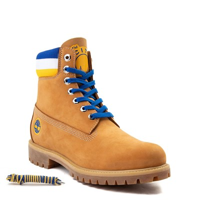 "Alternate view of Mens Timberland x Mitchell & Ness x NBA Golden State Warriors 6"" Boot"