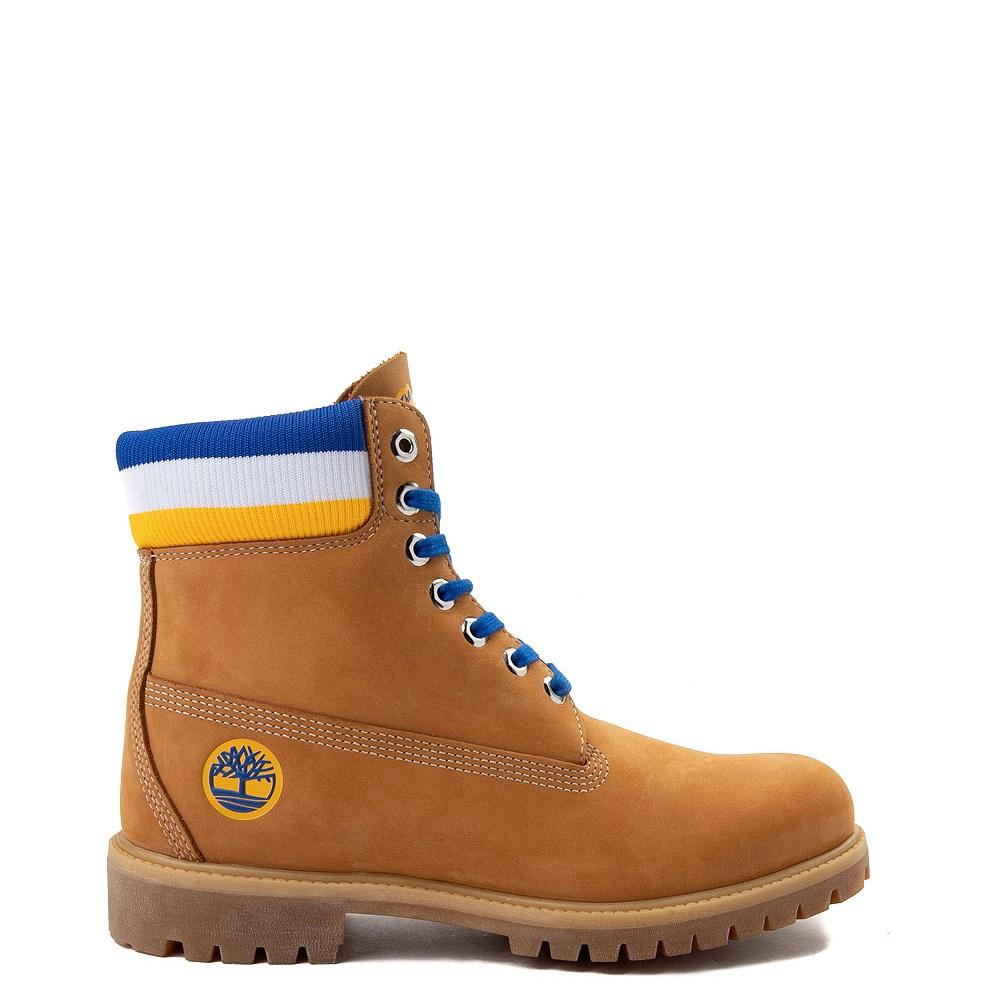 """Mens Timberland x Mitchell & Ness x NBA Golden State Warriors 6"""" Boot"""