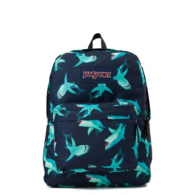 Main view of JanSport Superbreak Feeding Frenzy Backpack