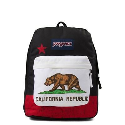 Main view of JanSport Superbreak California Flag Backpack