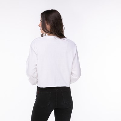 Alternate view of Womens Fila Cropped Long Sleeve Tee