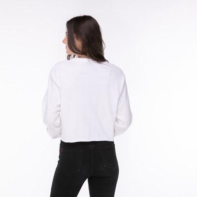 Alternate view of Womens Fila Cropped Long Sleeve Tee