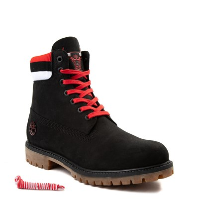 "Alternate view of Mens Timberland x Mitchell & Ness x NBA Chicago Bulls 6"" Boot"