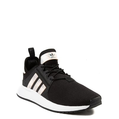 Alternate view of adidas X_PLR Athletic Shoe - Little Kid - Black