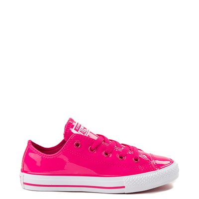 Youth/Tween Converse Chuck Taylor All Star Lo Patent Leather Sneaker
