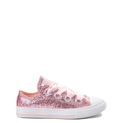 Youth/Tween Converse Chuck Taylor All Star Big Eyelets Lo Glitter Sneaker