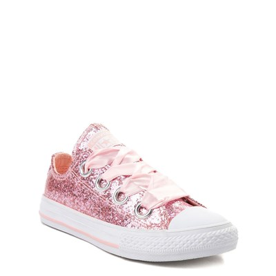 Alternate view of Youth/Tween Converse Chuck Taylor All Star Big Eyelets Lo Glitter Sneaker