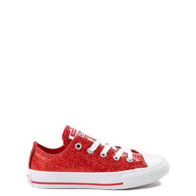 Converse Chuck Taylor All Star Lo Glitter Sneaker - Little Kid / Big Kid