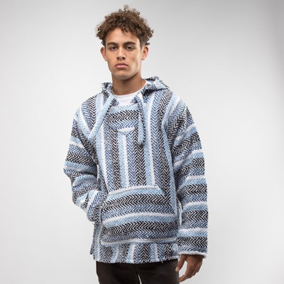 Main view of Mens Baja Poncho