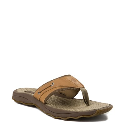 Alternate view of Mens Sperry Top-Sider Outer Banks Sandal - Tan
