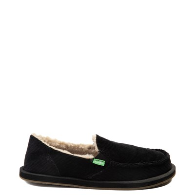 Main view of Womens Sanuk Donna Chill Cord Slip On Casual Shoe