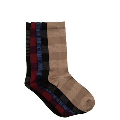 Main view of Mens Super Soft Crew Socks 5 Pack