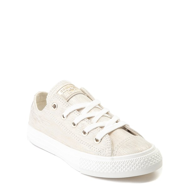 Alternate view of Converse Chuck Taylor All Star Lo Brushed Suede Sneaker - Little Kid