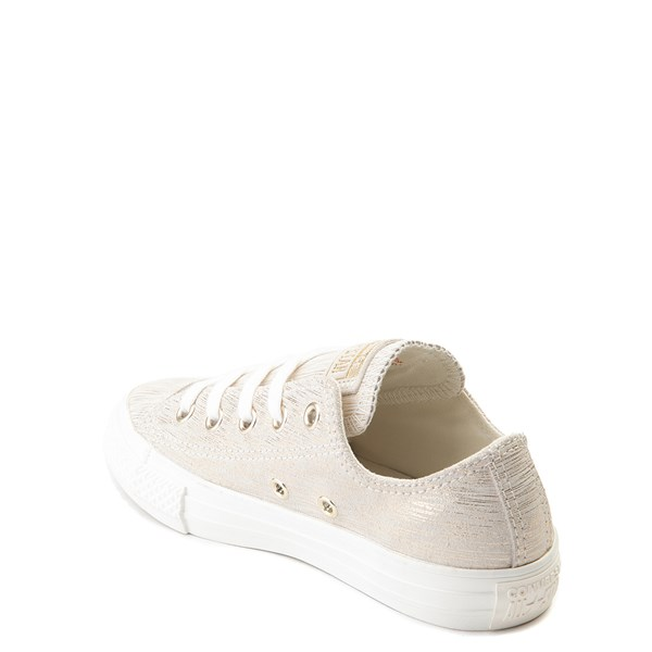 alternate view Converse Chuck Taylor All Star Lo Brushed Suede Sneaker - Little KidALT2