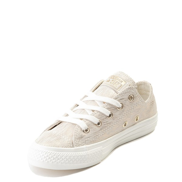 alternate view Converse Chuck Taylor All Star Lo Brushed Suede Sneaker - Little KidALT3