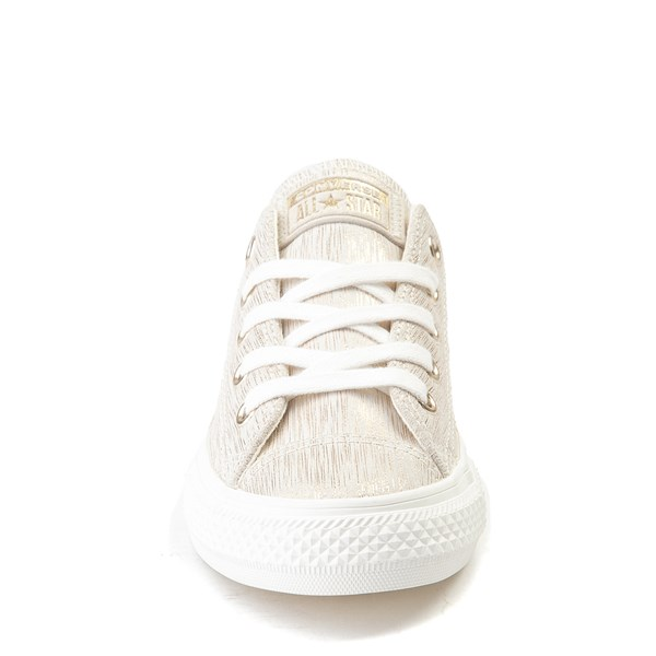 alternate view Converse Chuck Taylor All Star Lo Brushed Suede Sneaker - Little KidALT4