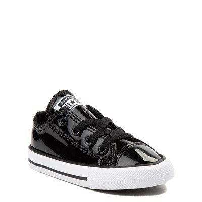 Alternate view of Toddler Converse Chuck Taylor All Star Lo Patent Leather Sneaker