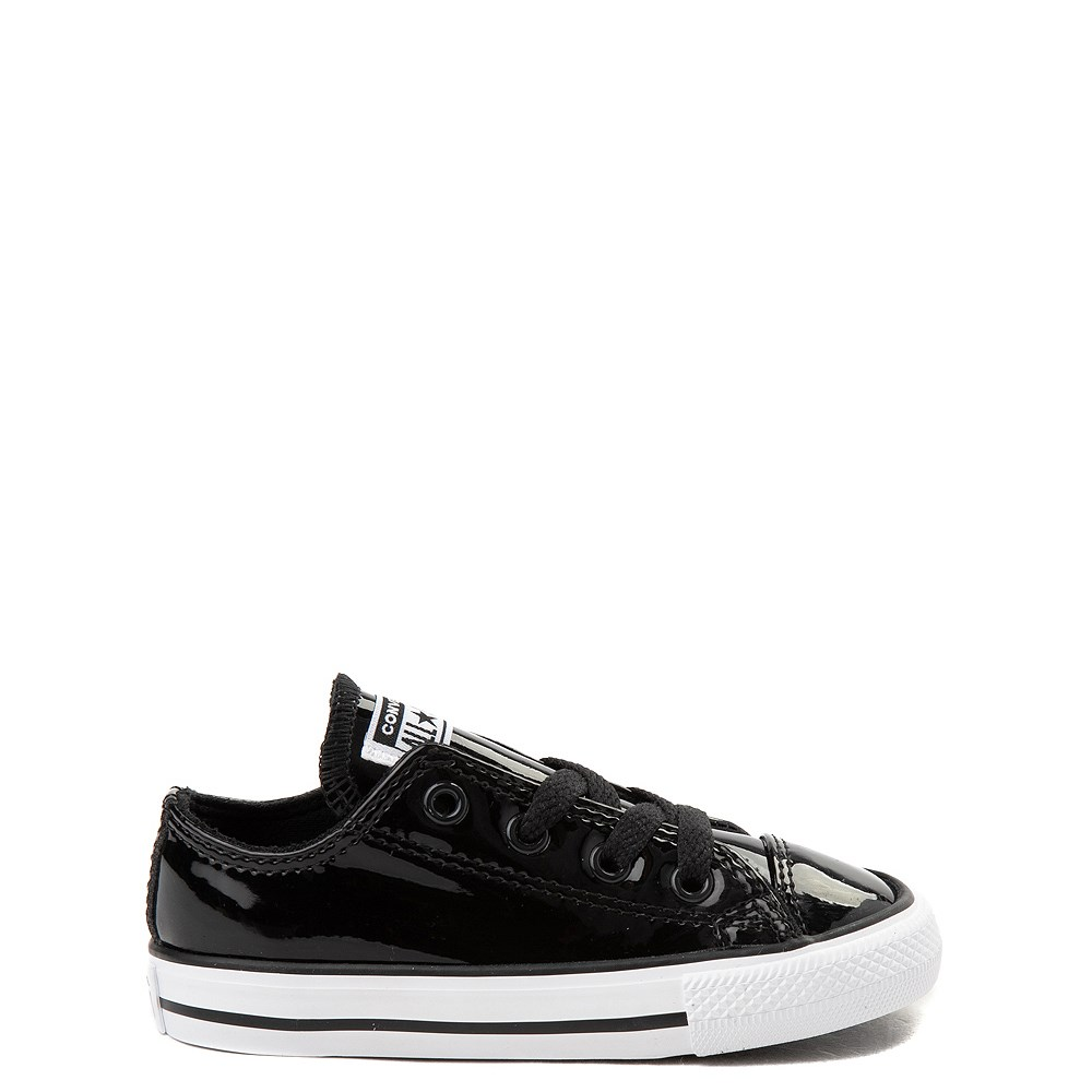 Toddler Converse Chuck Taylor All Star Lo Patent Leather Sneaker