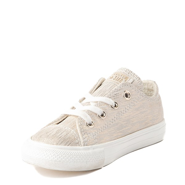 alternate view Converse Chuck Taylor All Star Lo Brushed Suede Sneaker - Baby / ToddlerALT3