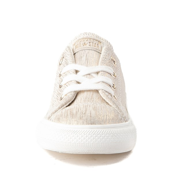alternate view Converse Chuck Taylor All Star Lo Brushed Suede Sneaker - Baby / ToddlerALT4