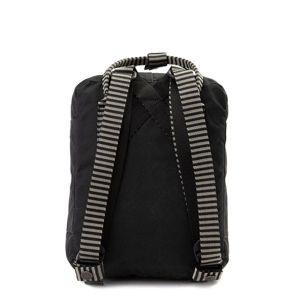 alternate view Fjallraven Kanken Mini Backpack - Black / WhiteALT1