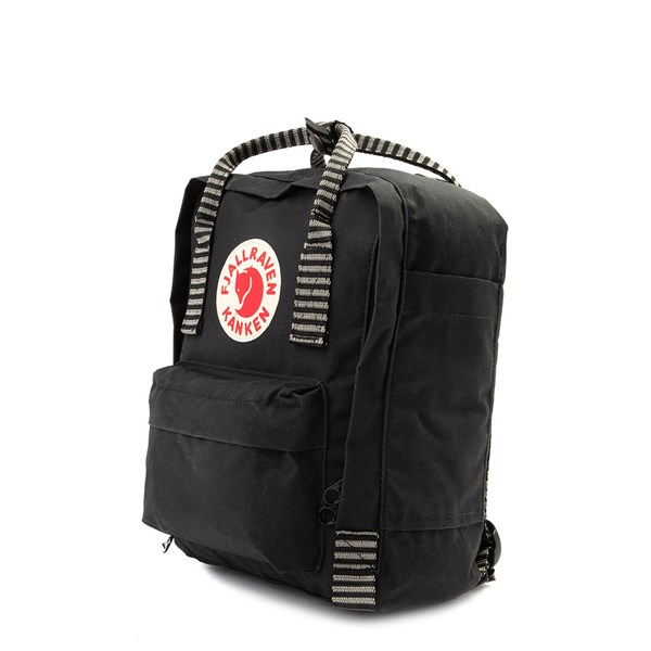 alternate view Fjallraven Kanken Mini Backpack - Black / WhiteALT2