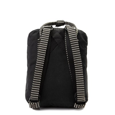 Alternate view of Fjallraven Kanken Mini Backpack - Black / White