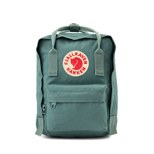 Main view of Fjallraven Kanken Mini Backpack - Frost Green