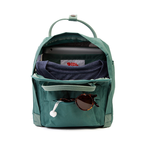 alternate view Fjallraven Kanken Mini Backpack - Frost GreenALT1