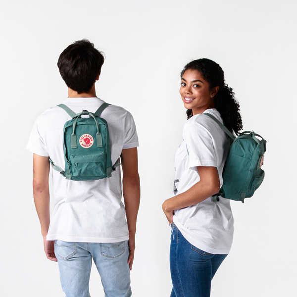 alternate view Fjallraven Kanken Mini Backpack - Frost GreenALT1BADULT