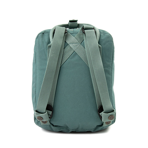 alternate view Fjallraven Kanken Mini Backpack - Frost GreenALT2