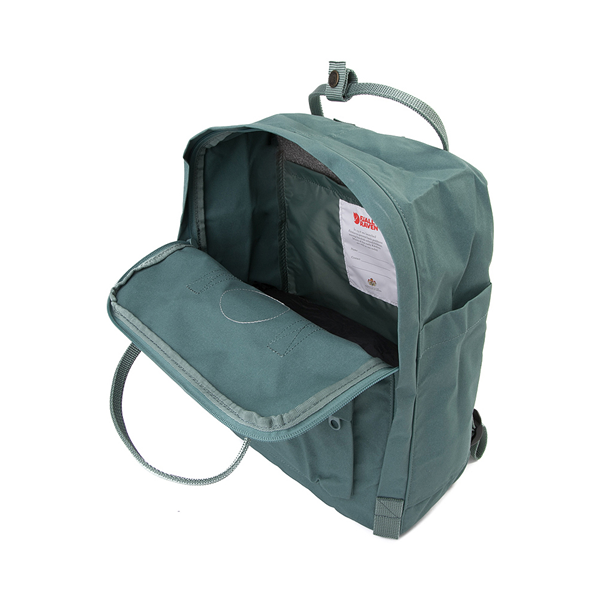 alternate view Fjallraven Kanken Mini Backpack - Frost GreenALT3
