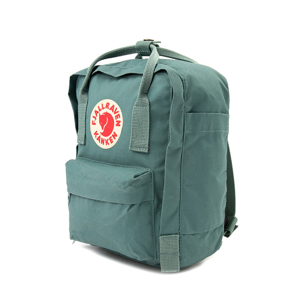alternate view Fjallraven Kanken Mini Backpack - Frost GreenALT4