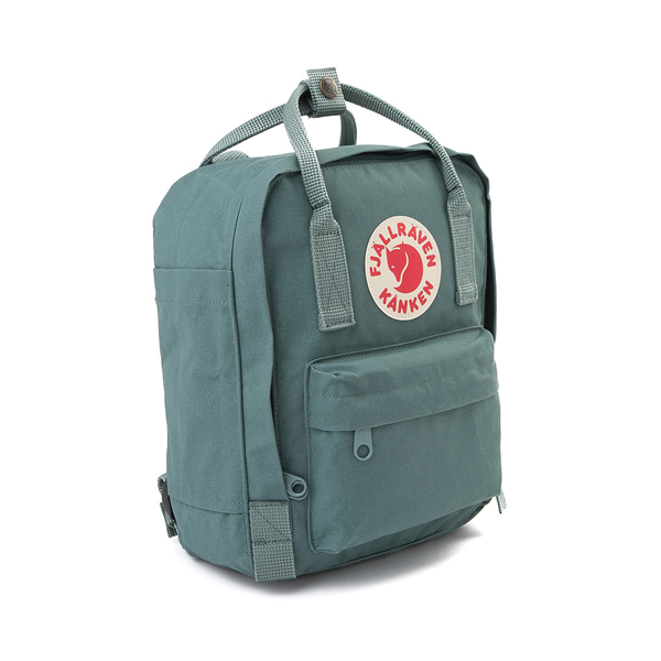 alternate view Fjallraven Kanken Mini Backpack - Frost GreenALT4B