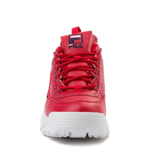 alternate view Womens Fila Disruptor 2 Premium Athletic Shoe - RedALT4