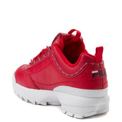 Alternate view of Womens Fila Disruptor 2 Premium Athletic Shoe - Red