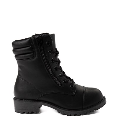 Main view of Youth/Tween MIA Maeva Combat Boot