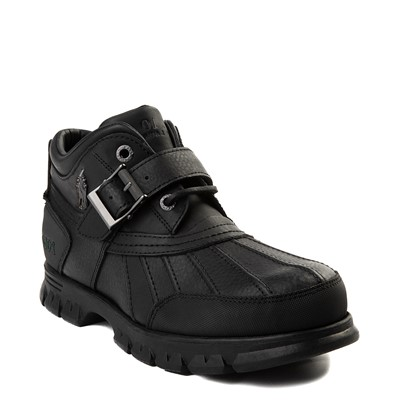 Alternate view of Mens Dover Boot by Polo Ralph Lauren - Black