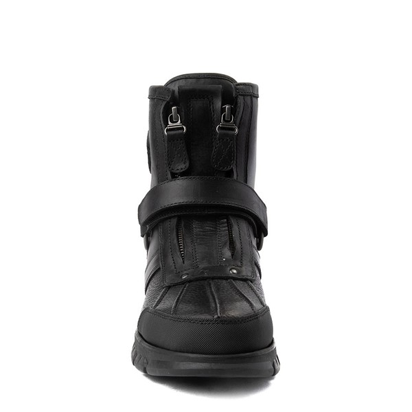 alternate view Mens Conquest Hi Boot by Polo Ralph Lauren - BlackALT4