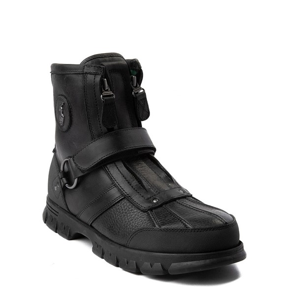 alternate view Mens Conquest Hi Boot by Polo Ralph Lauren - BlackALT5