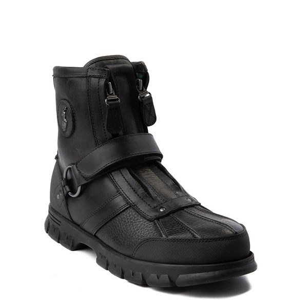 alternate view Mens Conquest Hi Boot by Polo Ralph Lauren - BlackALT1