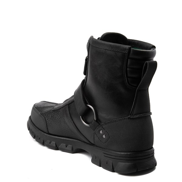 alternate view Mens Conquest Hi Boot by Polo Ralph Lauren - BlackALT2