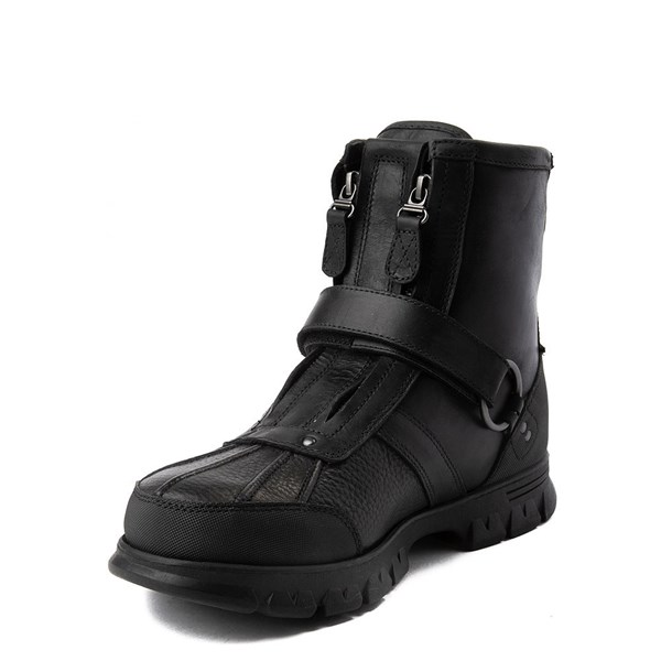 alternate view Mens Conquest Hi Boot by Polo Ralph Lauren - BlackALT3