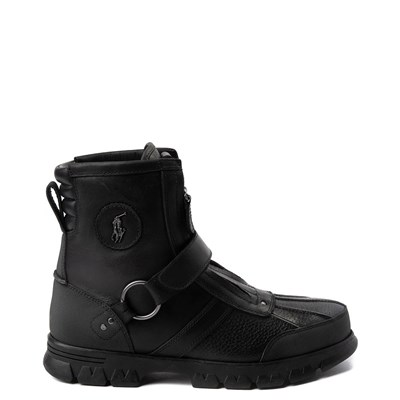 Main view of Mens Conquest Hi Boot by Polo Ralph Lauren - Black