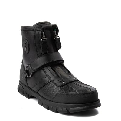 Alternate view of Mens Conquest Hi Boot by Polo Ralph Lauren - Black